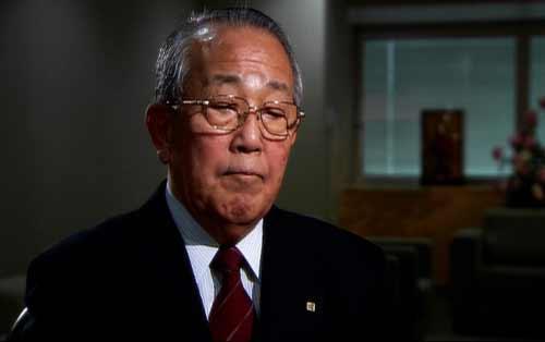 京瓷集团名誉董事长,被称为日本经营之圣