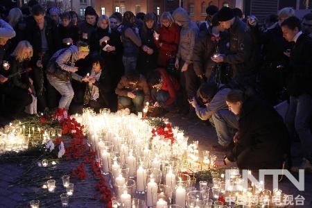 俄罗斯纪念爆炸案遇难者